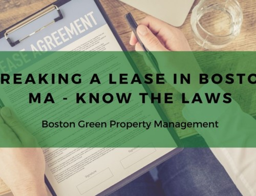Breaking a Lease in Boston MA – Know the Laws